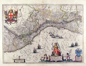 VECCHIA MAPPA per LIGURIA