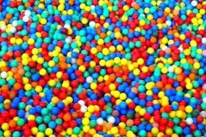 piccole palline a colori