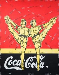 BALLERINE MAOISTE-coca-cola_2005_wang_guang-yi1