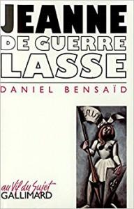 JEANNE DE GUERRE COVER